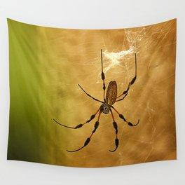 Banana Spider Wall Tapestry