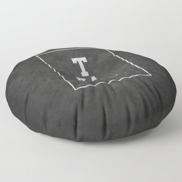 Thank god is techno Floor Pillow