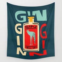 Gin Gin Gin Wall Tapestry