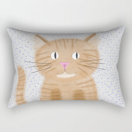 Cara the Cat Rectangular Pillow