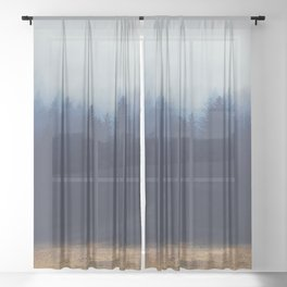 Misty Forest  2 Sheer Curtain