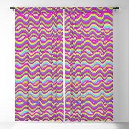 Rainbow Bacon Blackout Curtain