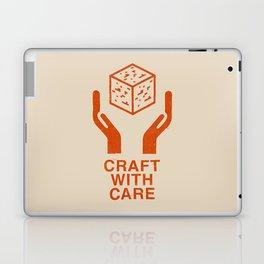 Craft With Care (Orange) Laptop & iPad Skin