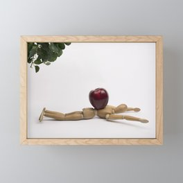 Felled by the Low Hanging Fruit Framed Mini Art Print