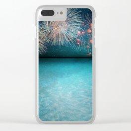 Celebration Clear iPhone Case