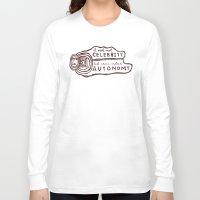 celebrity Long Sleeve T-shirts featuring Celebrity & Autonomy by Josh LaFayette
