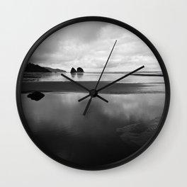 Stillness in Oregon Wall Clock