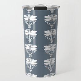Blue Bayoux Arts and Crafts Dragonflies Travel Mug