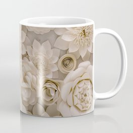 Paper Bouquet Coffee Mug