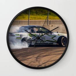 Smokin' Wall Clock