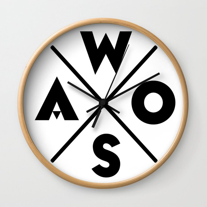 WOSA - World of Street Art Wall Clock