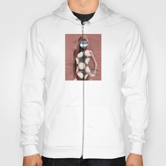 Fleisches Lust 7 - meat Collage Hoody