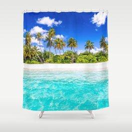 Coastline Shower Curtain