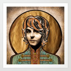 Boho Beatle (Paul) Art Print