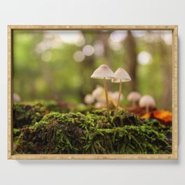 Forest Floor Serving Tray