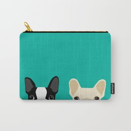 Boston Terrier & French Bulldog 2 Carry-All Pouch