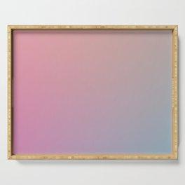 SLOW DANCE - Minimal Plain Soft Mood Color Blend Prints Serving Tray