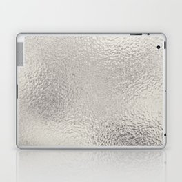 Simply Metallic in Silver Laptop & iPad Skin