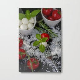 Italian appetizer Metal Print