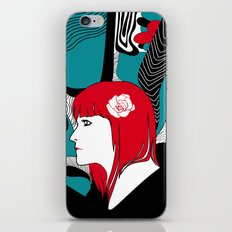 Red Head iPhone & iPod Skin