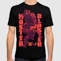 THUNDERDOME: MASTER BLASTER Black SMALL Mens Fitted Tee