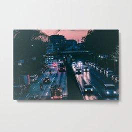 Tokyo trafic Metal Print