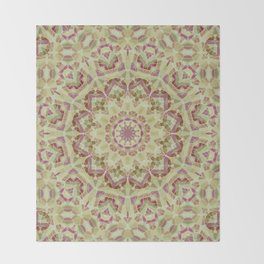 Kaleidoscope , mandala , ornament 1 Throw Blanket