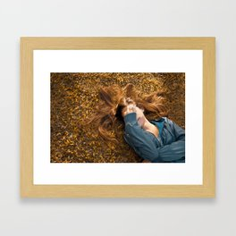 Girl Framed Art Print