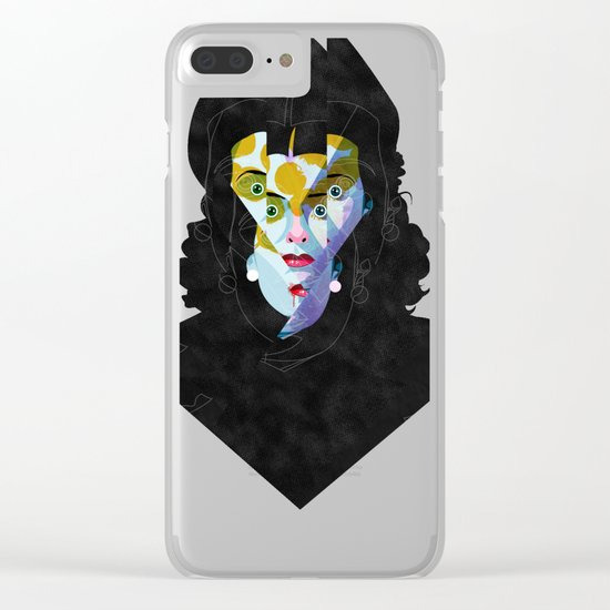 vamp Clear iPhone Case