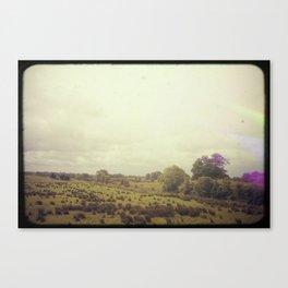 Road Trip Across the Irish Countryside Canvas Print