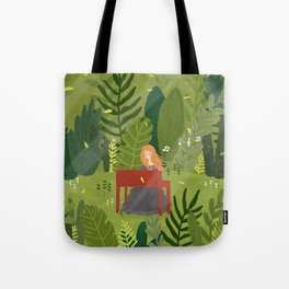 Melody and Forest Tote Bag