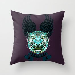 The keeper cages Throw Pillow