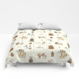 The Holy Grail Pattern Comforters