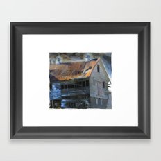 Hay Days Gone By! Framed Art Print