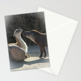 Love is... overcoming your differences Stationery Cards