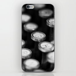 Typewriter keys iPhone Skin