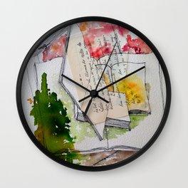 Déjame que te cuente Wall Clock