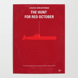No198 My The Hunt for Red October Poster