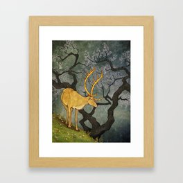 The Ceryneian Hind Framed Art Print