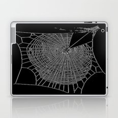 A Large Illustration Of A Spider's Web  Laptop & iPad Skin