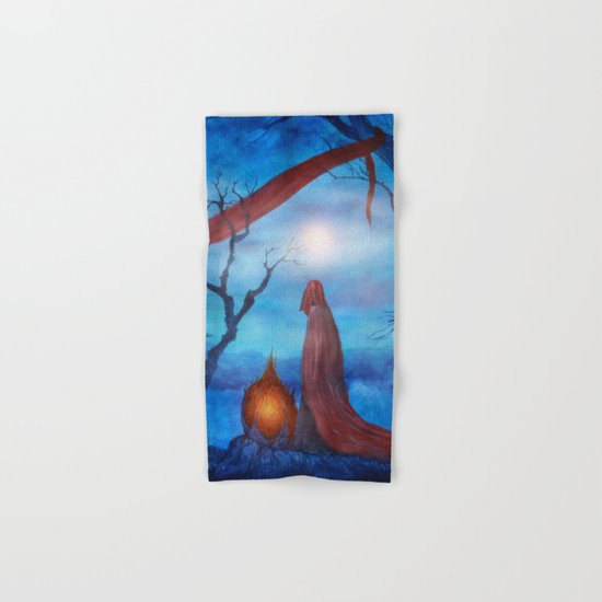 Tales of Halloween IV Hand & Bath Towel