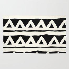 Tribal Chevron Stripes Rug