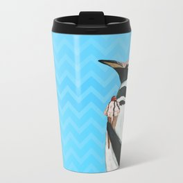 Genial Penguin from Animal Society Travel Mug