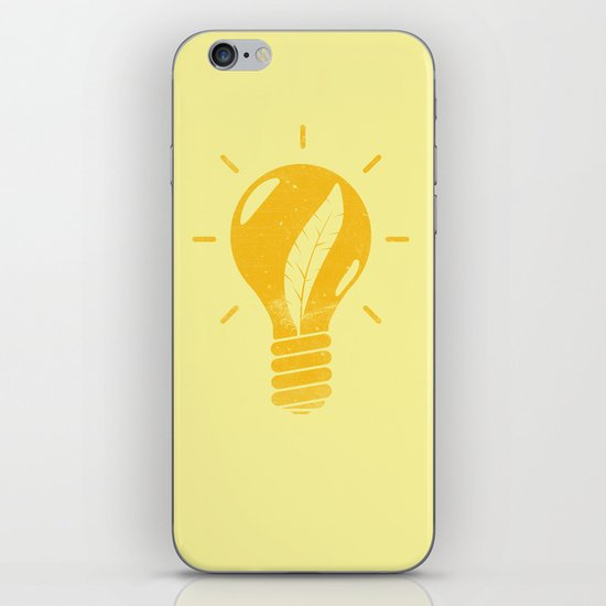 Light as a Feather iPhone Skin