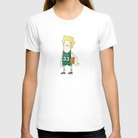 larry T-shirts featuring Larry Bird by frappeboy
