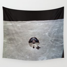 Apollo 10 - Far Side Of The Moon Wall Tapestry