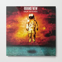 Brand New - Deja Entendu Metal Print