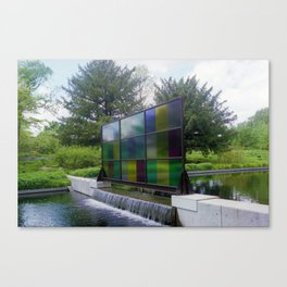 Window Art Canvas Print