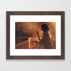 Mama In the Corner Framed Art Print