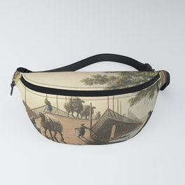 Ponte piccolo from Views in the Ottoman Dominions in Europe in Asia and some of the Mediterranean is Fanny Pack